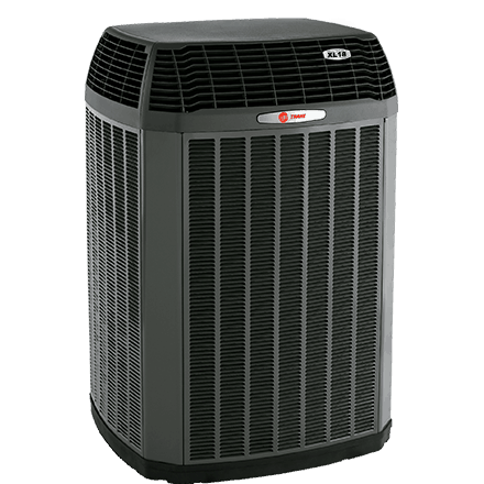 Trane XL18i heat pump.