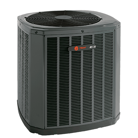 Trane XR17 heat pump.