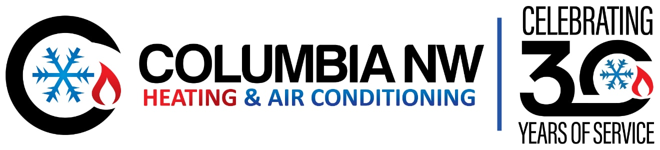 Columbia NW Heating & Air Conditioning. Celebrating 30 years of service.